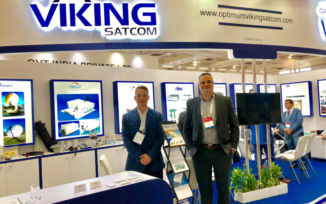 ETI Partners with Optimum Viking Satcom at 27th Annual Convergence India Show