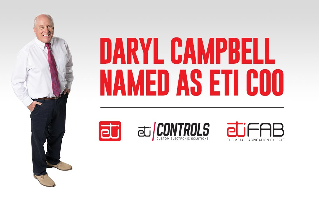 ETI Promotes Daryl Cambell to COO