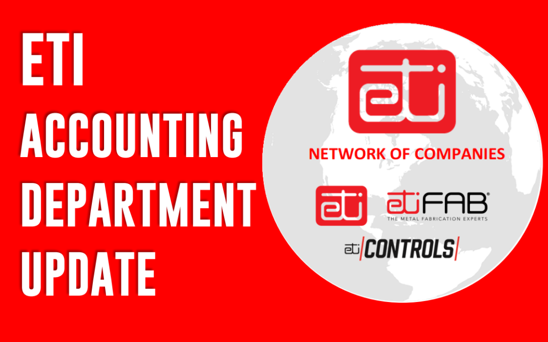 ETI Customers – PLEASE READ – Accounting Department Update